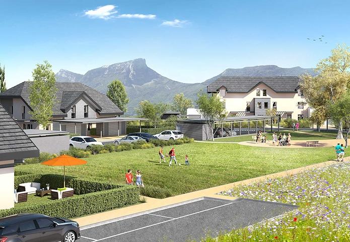 Résidences indépendantes de plain pieds ou en duplex avec jardins privatifs ou terrasses