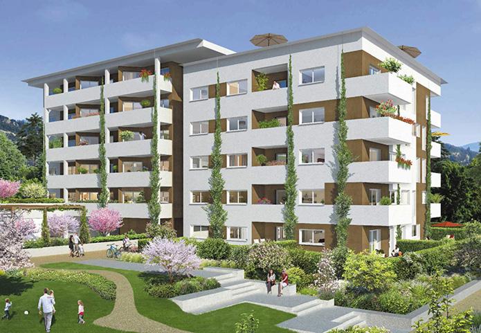Commune en pleine expansion à proximité de Chambéry