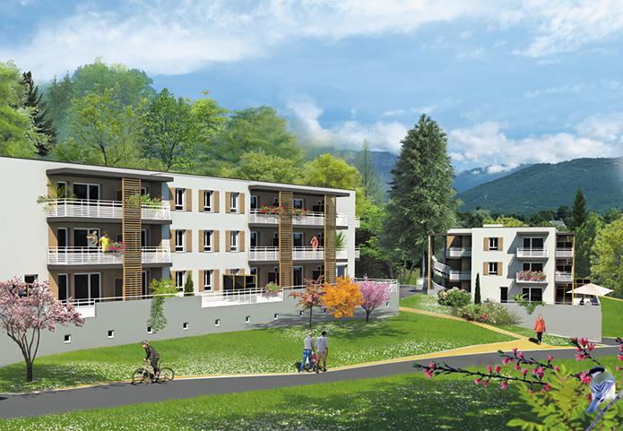 Votre appartement aux portes de Chambéry dans un cadre verdoyant