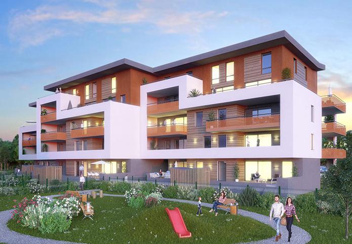Appartements neufs a mi chemin entre La Ravoire et Challes-les-Eaux