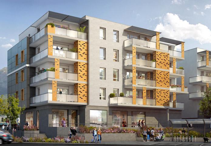 Appartement neuf proche d'un magnifique parc et au pied du tramway