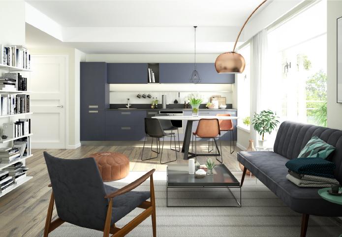 Appartement duplex-jardin