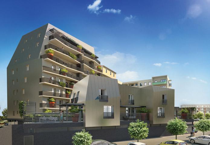 Appartements neufs au cœur de la ville