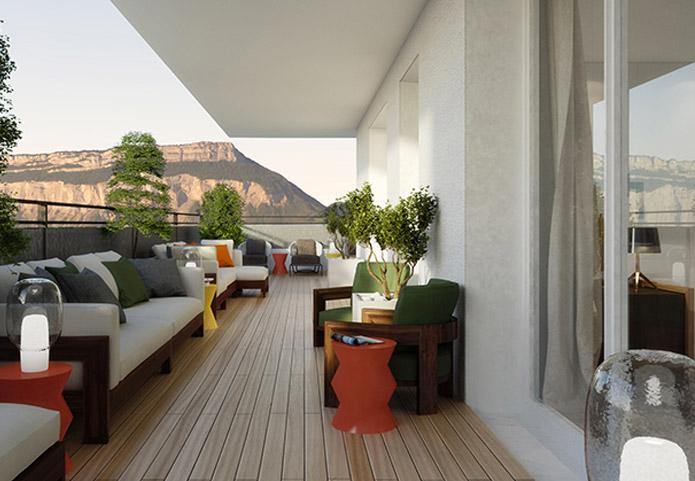 Appartements neufs au calme et accessible