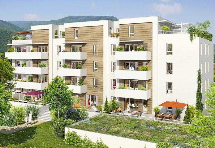 Appartement neuf à deux pas de Grenoble