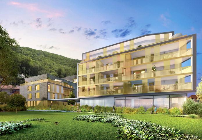Excellent rapport qualité prix pour cette résidence à 2 arrêts de tramway de Grenoble