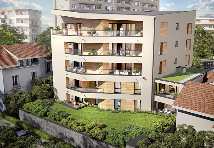 Quartier prisé de Grenoble