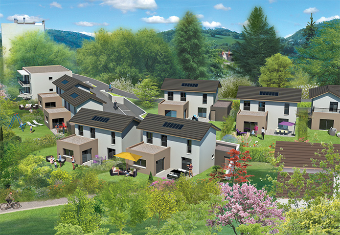 7 maisons avec garage